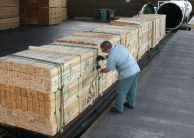 چوب کاج ، چوب ترمو و اصلاح شده ، چوب خشک کن روسی C C A