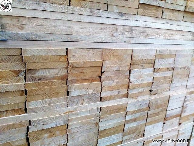 انواع چوب چهار تراش کاج روسی , ابعاد چوب چهار تراش 2 * 15 , قیمت هر متر طول چوب کاج روسی