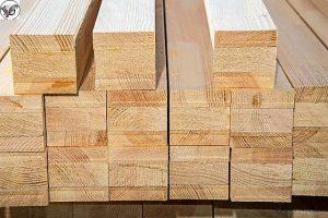انواع چوب چهار تراش کاج روسی , ابعاد چوب چهار تراش , قیمت هر متر طول چوب کاج روسی
