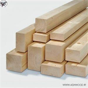 انواع چوب چهار تراش کاج روسی , ابعاد چوب چهار تراش 4.5 سانتی متر در 2 سانت