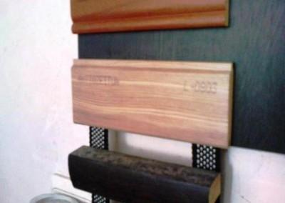 قرنیز چوبی ، دیوار کوب و زهوار