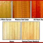 رنگ بندی انواع لمبه چوبی