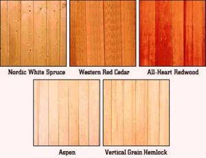 رنگ بندی چوبهای لمبه