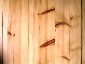 دیواره لمبه کوبی شده از چوب کاج روسیه