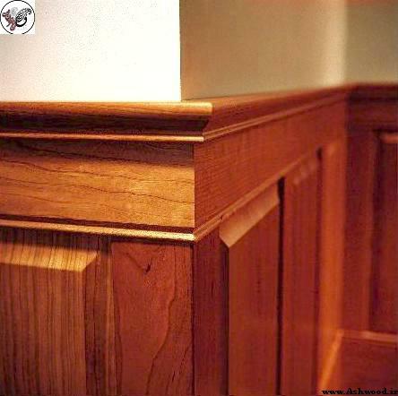دیوارکوب چوبی کلاسیک