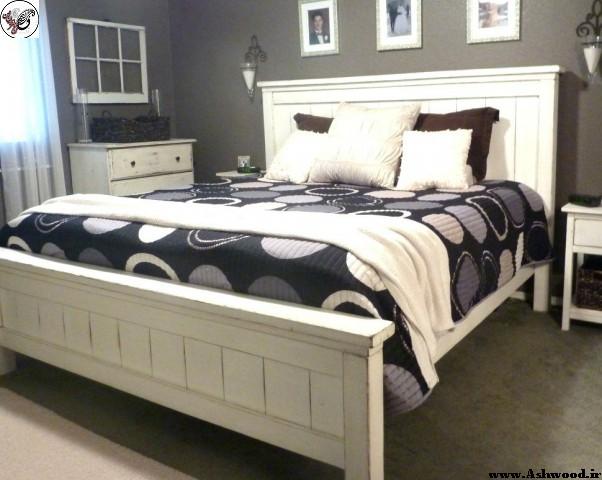 دکوراسیون چوبی اتاق خواب ,  ایده و دکور اتاق خواب چوبی