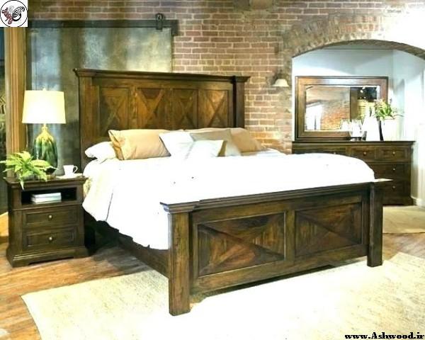 ایده و مدل تخت خواب چوبی٬ ساخت تخت خواب٬ دکوراسیون چوبی اتاق خواب