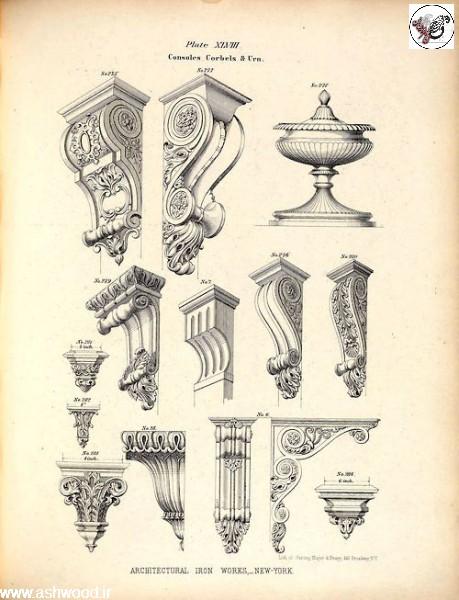 ستون و سرستون , زهوار دکوراسیون چوبی , دکوراسیون سبک کلاسیک ، کابینت آشپزخانه ، راه پله ، ایده های خلاقانه دکوراسیون٬