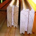 انواع لمبه ، دکور چوبی ، چوب لمبه
