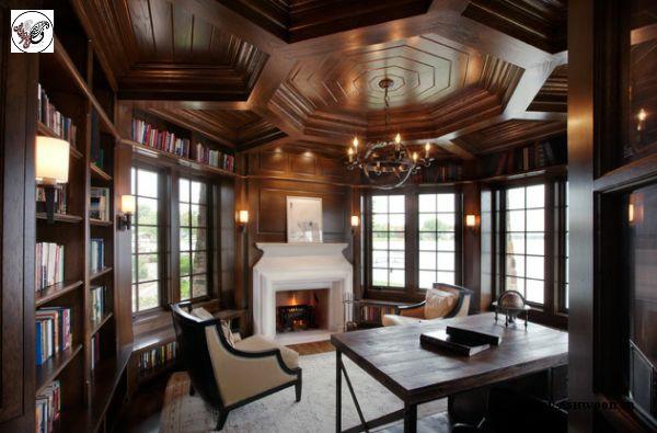 مدل سقف چوبی