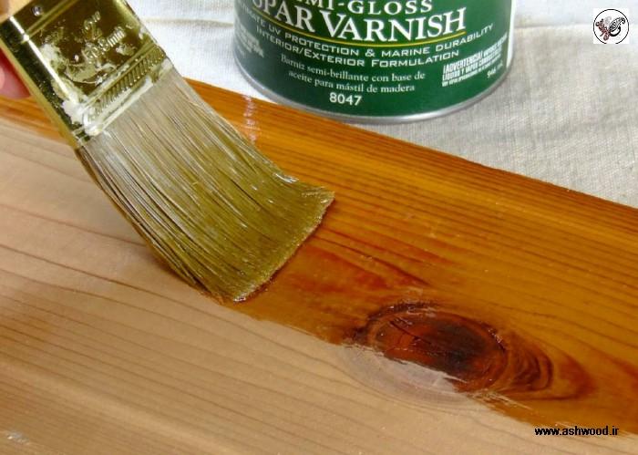درب کابینت و دکوراسیون آشپزخانه چوبی , رنگ چوب , پلی استر