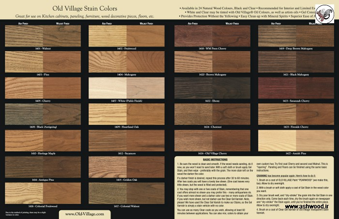 رنگ کاری چوب و دکوراسیون تمام چوب , رنگ کاری چوب , رنگ و رزین پلی استر پولیش