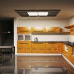 درب کابینت چوبی , قاب تونیک سبک کلاسیک در دکوراسیون آشپزخانه لوکس و لاکچری