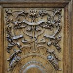 منبت کاری , دکوراسیون کلاسیک و باروک , منبت چوب و درب , منبت ستون و درب کابینت