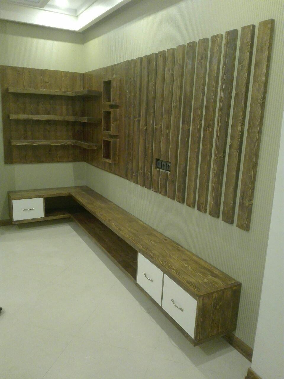 نمونه کارهای دکوراسیون چوبی
